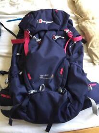 Women's berghaus 60l backpack