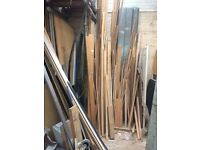 Plenty of new and old wood