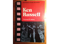 Ken Russell - Critical Monograph from 1976, Rare in this condition, 1st Ed.