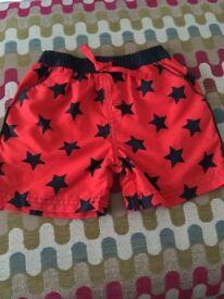 Baby swim shorts 12-18 month