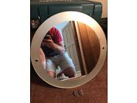 Mirror for bathroom/toilet