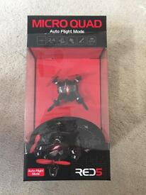 Red 5 Micro Quad (Drone) - Brand New, Boxed