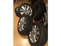 """Genuine VW Golf Alloys & Wheels 16"""""""
