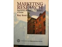 Marketing Research - Business Studies - Uni Textbook - Offers accepted