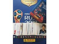 Russia World Cup Panini sticker swaps 2018