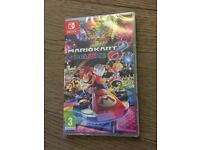 Mario Kart 8 Deluxe Brand New Factory Sealed for Nintendo Switch