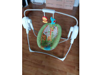 Fisher-Price Rainforest Friends SpaceSaver Cradle 'n Swing £50 or o.n.o.