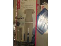 Little Girls Ski Thermal Underwear 3-4yrs brand new in packet will post