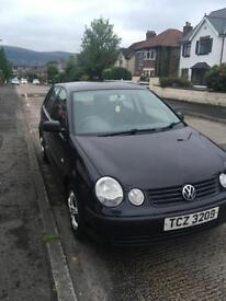 Volkswagen Polo 1.2 2004 less than 80,000 Miles