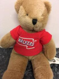 Walkers limited edition 50th birthday bean bear