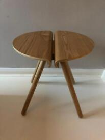 Beautiful wooden side table