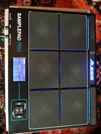 Alesis Sample Pad Pro with Perfect Fit Hardcase, USB & Original Box