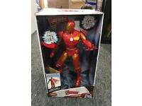 Marvel avengers talking iron man new boxed action figure Disney store.