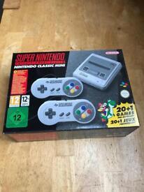 Super Nintendo SNES classic mini console