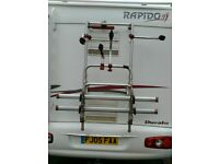 TWIN CYCLE CARRIER FIAMMA PRO C