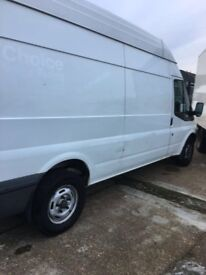 2010 ford transit t350 2.4 diesel lwb hightop just come of long term lease