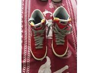Size 4 Nike blazers