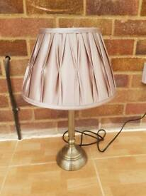 Champagne gold lamp