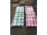 Sun lounger replacement cushions