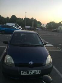 Excellent condition 1 ltr Toyota Yaris petrol