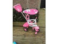 Fisher price pink baby trike