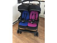 Joie twin aire double buggy