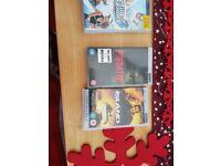 PSP + SLEAVE + HEADPHONES + 8 GAMES + 2 FILMS