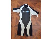 Short sleeve wet suit Small
