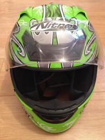Nitro racing helmet