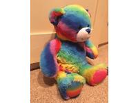 Build a bear Rainbow bear