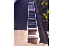 ALUMINIUM EXTENDING LADDERS FOR SALE. COULD DELIVER.