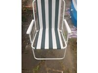 BRAND-NEW 2 X GARDEN PATIO Folding chairs Fishing,beach,camping