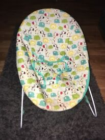 Baby bouncer and baby food warmer
