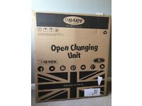 Obaby Open Changing Table - Taupe Grey
