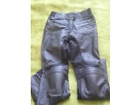 Leather pants for bike