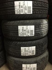 205/55/16 Uniroyal Tiger Paw allseasons tires