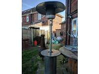 Large patio gas heater