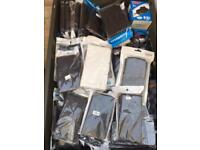 Box full of Mobile phone cases NEW