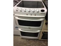 Creda 50cm Electric Cooker Double Oven Ceramic Hob Fully Working £50 Sittingbourne