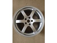 "Rays Engineering Forged 18"" Rear Alloy Wheel Rim (Nissan 350Z)"