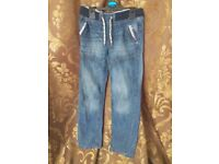 7-8 year old boys blue jeans