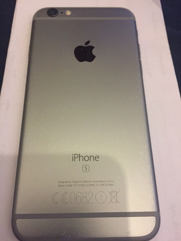 iPhone 6s 16gb o2in Swinton, ManchesterGumtree - iPhone 6s 16gb space grey on the o2 network Phone is in great condition had a screen protector on from new Phone only