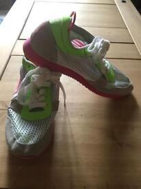 Superdry Ladies Trainers Indoor Netted Footwear - Size 6