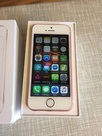 Apple iPhone SE - 16GB - Rose Gold - Immaculate Condition - AS NEW