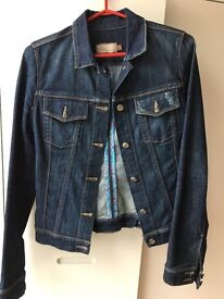 Designer Jean Jacket from US Kult label Paige, size S, nearly new