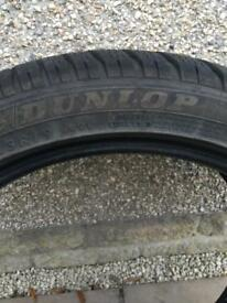 Dunlop winter sport SP Tyres x 4 19 inch