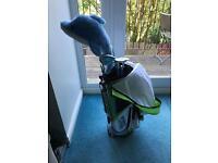 Boys / Girls Kids golf club set age 5-7 including bag stand