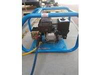 Honda industrial pressure washer with new pump 6 months ago at cost of £400 total cost 1600