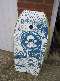 Saltrock Body Board in good condition for adult or child with safety strap priced to clear.