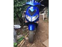 Peugeot speed fighter 100cc moped